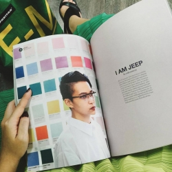 I am JEEP @daybedsmag June issue 2016